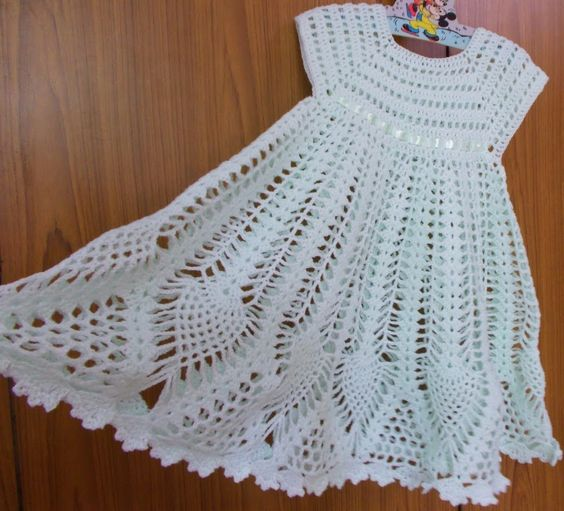 Crochet Baby Robe Pattern : Sweet Nothings Crochet: STUNNING DRESS Crochet Baby ...