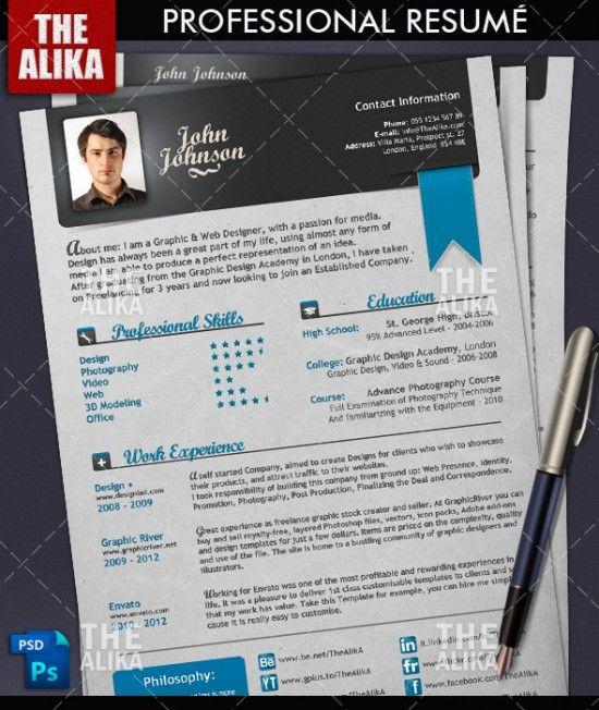 resume inspiration business amp career pinterest