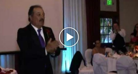 Dad Refused To Give a Speech At His Daughter's Wedding And He Did This Instead http://www.iconicvideos.biz/dad-refused-give-speech-daughters-wedding-instead/