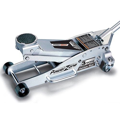 Powerline 380044 3 Ton Aluminum And Steel Garage Jack Floor Jacks Aluminum Garage Floor Jack