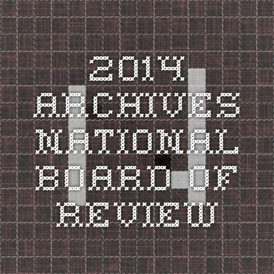 2014 Archives - National Board of Review