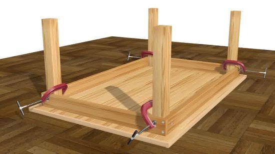 Come Costruire un Tavolo: 14 Passaggi (con Immagini)