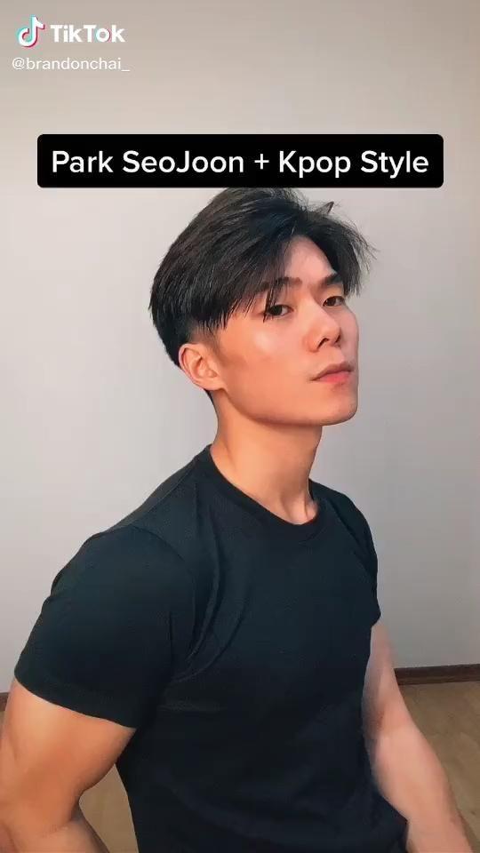 Easy Park Seo Joon And Kpop Style Beauty Tiktok Video Korean Men Hairstyle Korean Haircut Men Asian Men Hairstyle