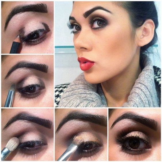 Holiday Makeup! I adore this look!