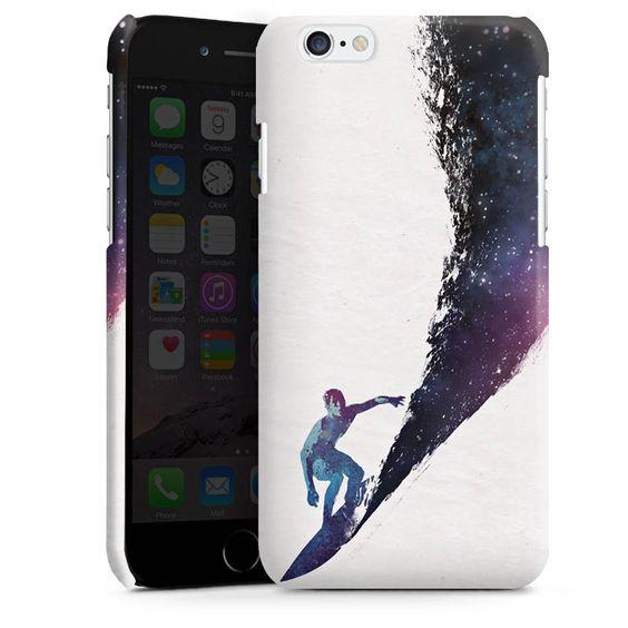 surfing the universe für Premium Case (glänzend) für Apple iPhone 6 von DeinDesign™