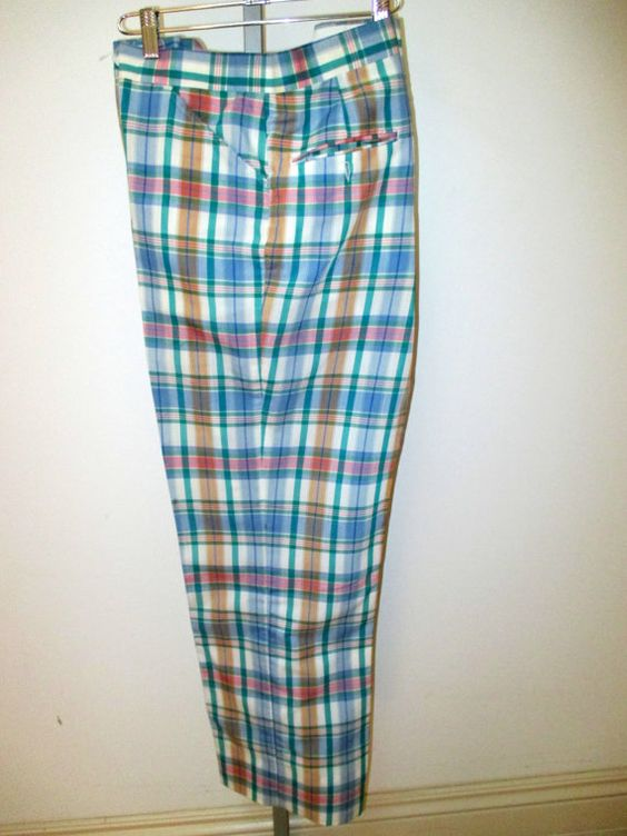 Pants, The o'jays and Plaid pants on Pinterest