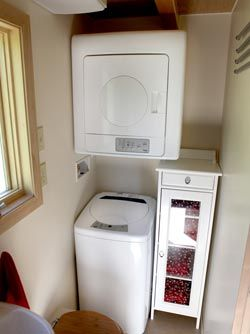 Washer and dryer: