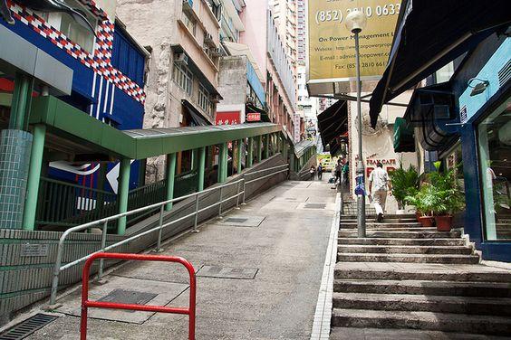 100507 Mid-level Escalators by jamesgarrisscm, via Flickr