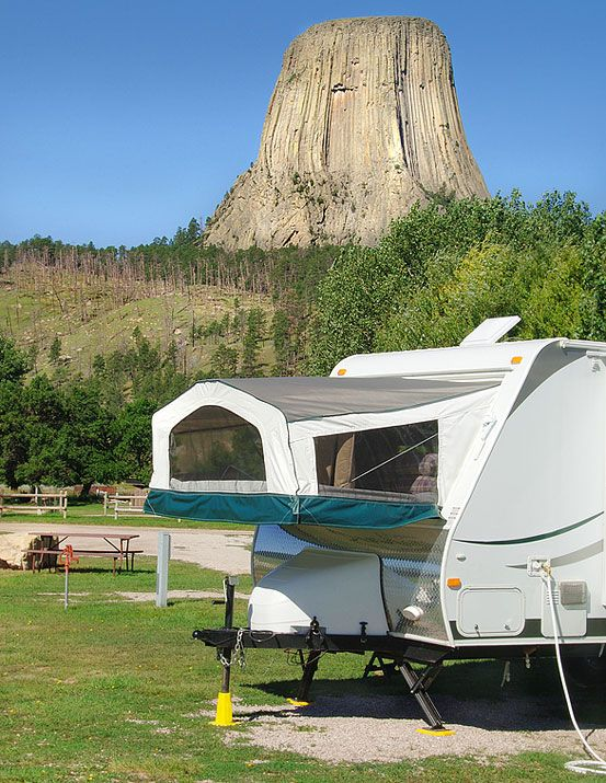 Campgrounds Near Devils Tower Camping Pinterest