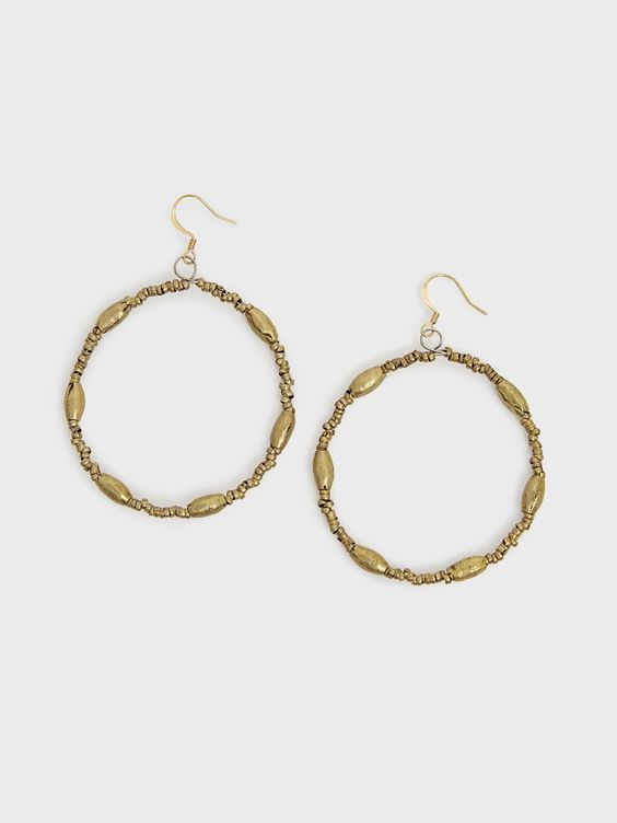 Keranga Hoop Earrings