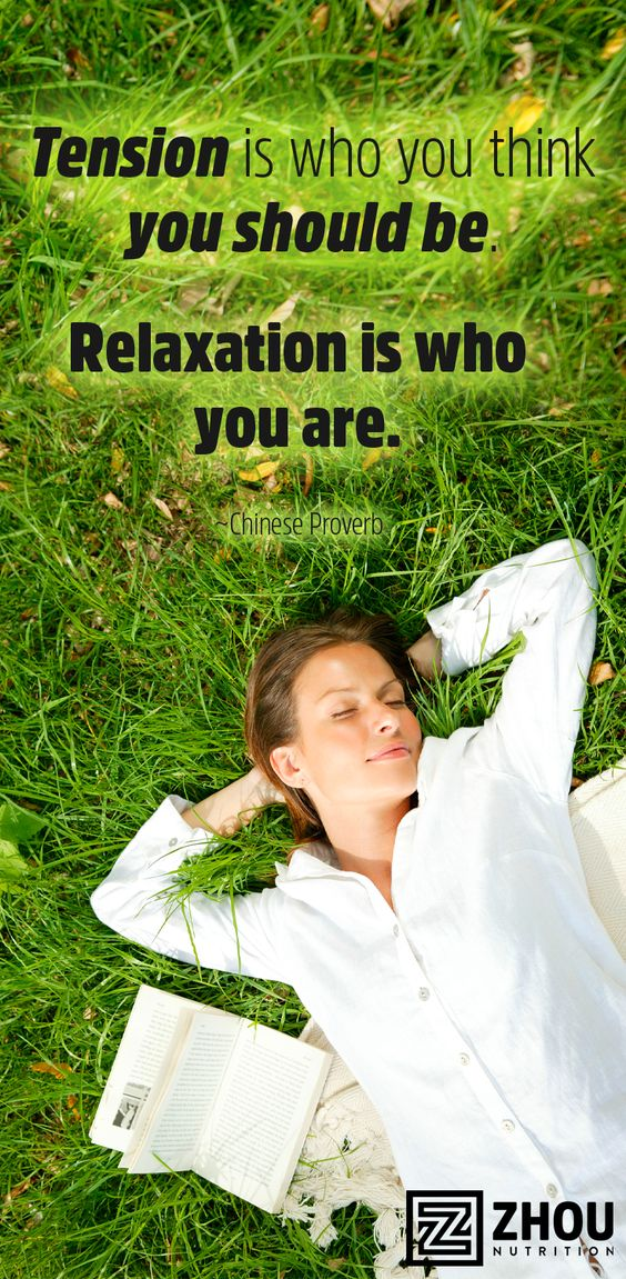 Relax..it's a good day!