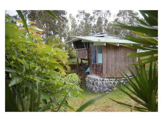 Tiny Off Grid Hawaiian Cottage in Pahoa Hawaii for sale Even
