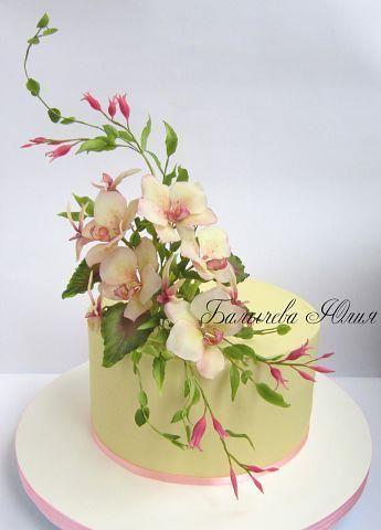 Questa torta è il mio ideale di torta : semplice ma comunque a suo modo ricca di colore e di forme. Elegante. Perfetta. Mia.