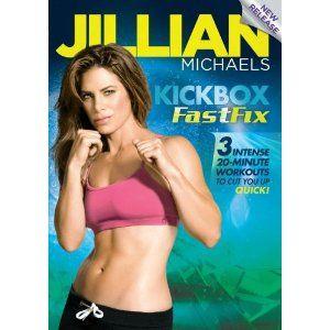 Jillian Michaels: Kickbox FastFix ~ I want this!!#Repin By:Pinterest++ for iPad#