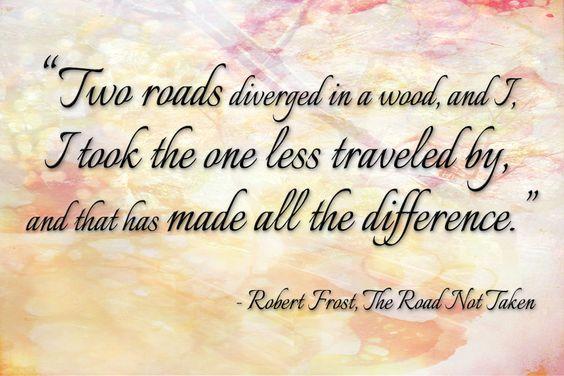 the road not taken analysis essay