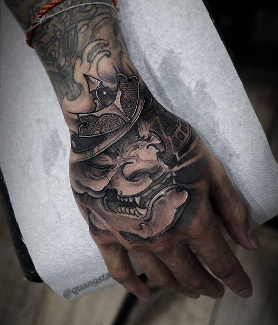 Best Hand Tattoo Ideas For Men Inked Guys Positivefox Com Hand Tattoos For Guys Hand Tattoos Japanese Hand Tattoos
