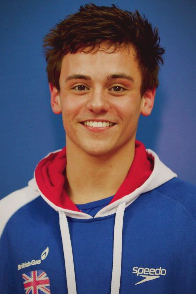 """Tom Daley :) """"God Save The Queen!"""" My FAVORITE Olympian Ever... Even If He Isn't American! I Love British Boys!!!"""