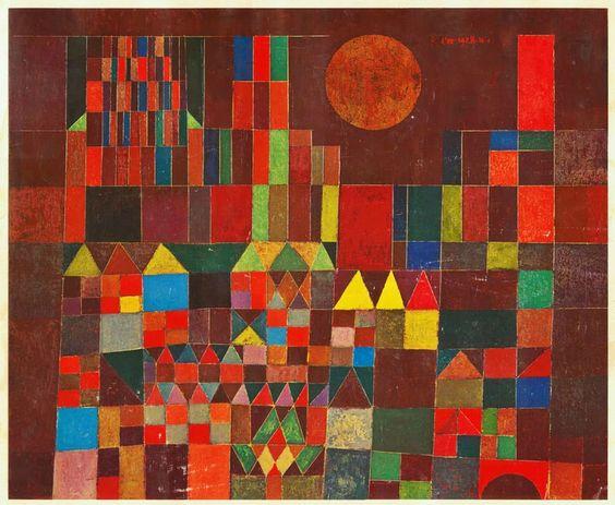 Paul Klee, Château et soleil: