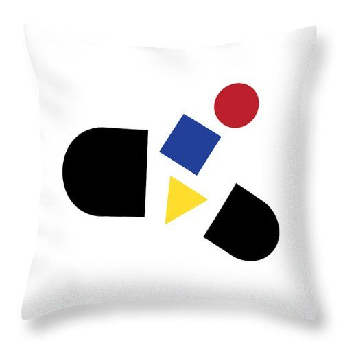Bauhaus Pill 1 Throw Pillow For Sale By Borja Robles Throw Pillows Pillow Sale Pillows