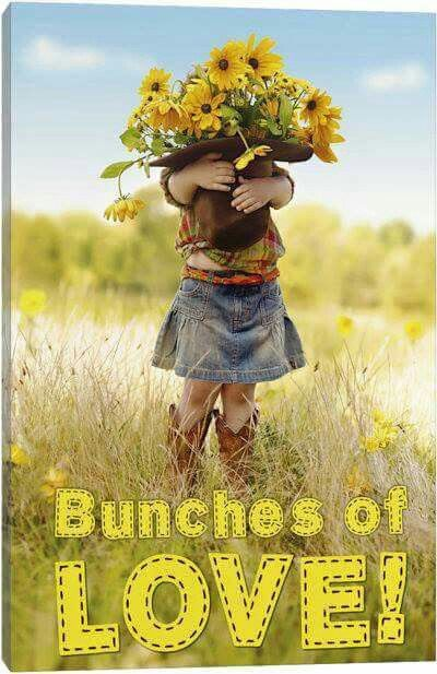 Bunches of love. God bless you Jean. Ly