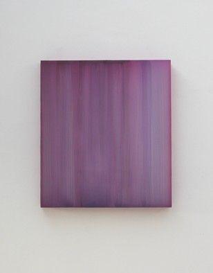 Sybille Pattschek-Corona Chrome Hellviolett, 2008, Enkaustik auf Plexiglas,  125x1265x6cm