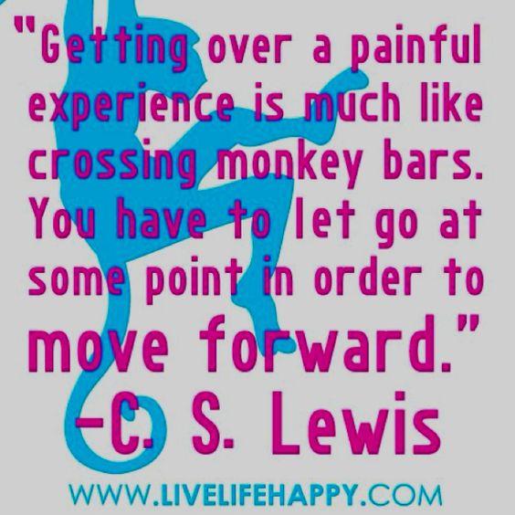 Keep moving forward :)