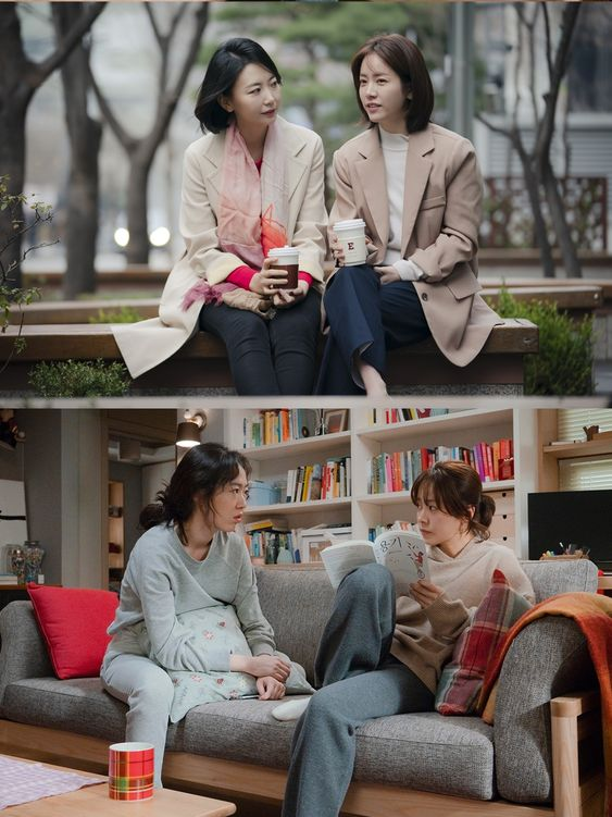 Han Ji Min and Jung Hae In Connect Emotionally in Posters for MBC Drama Spring Night | A Koala's Playground