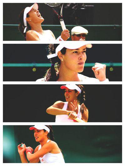 Ana Ivanovic perdió el día de hoy @Wimbledon @JugamosTenis