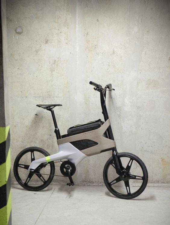 (via Peugeot Concept Bike DL122 - Car Body Design)