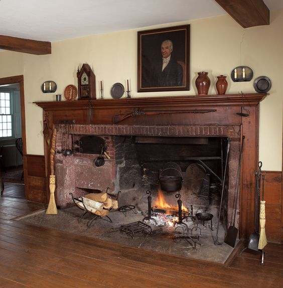 Amundsen Kitchen Hearth Room: Historic Housefitters- Quality Period Hardware & Lighting