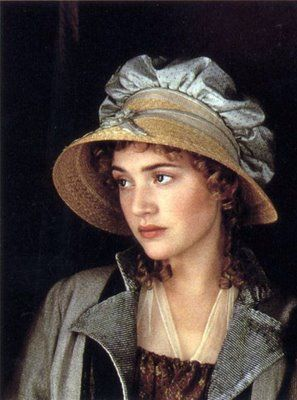 Kate Winslet at Marianne Dashwood in Jane Austen's Sense and Sensibility -- love this movie!: