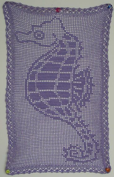 Pattern for seahorse