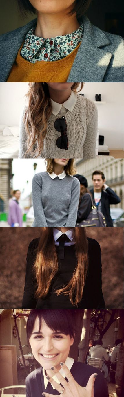 collars are straight up innnn this spring, yo.....