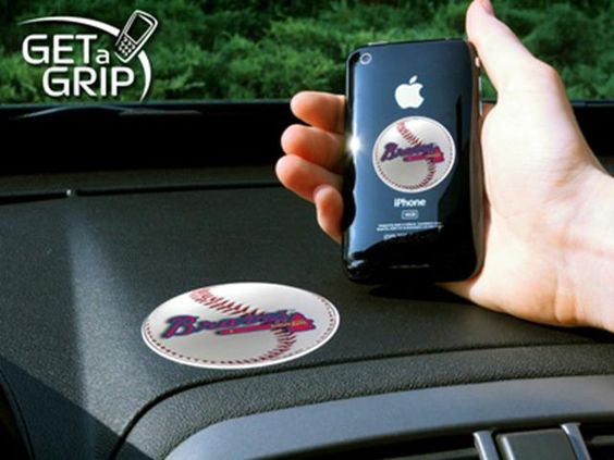 FanMats MLB - Atlanta Braves Cell Phone Get A GripIf you will use this referral code to make purchases at the website it will give you a 5% discount and me credit for the referral sale:  f701bea985
