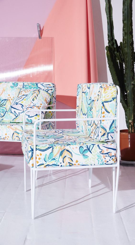 we cant think of anywhere better to lap up the light than on the ro palm orangery chair