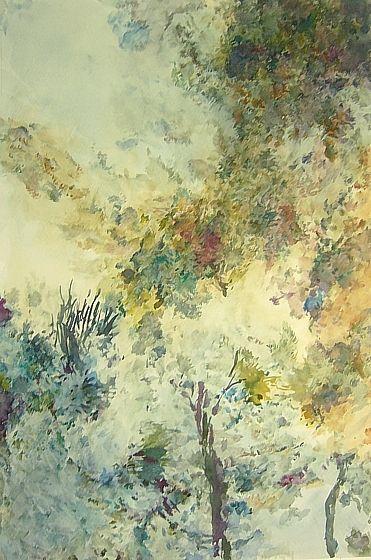 Aquarell von Andres Kreienbuehl, 2005, 30,4 x 45,2 cm