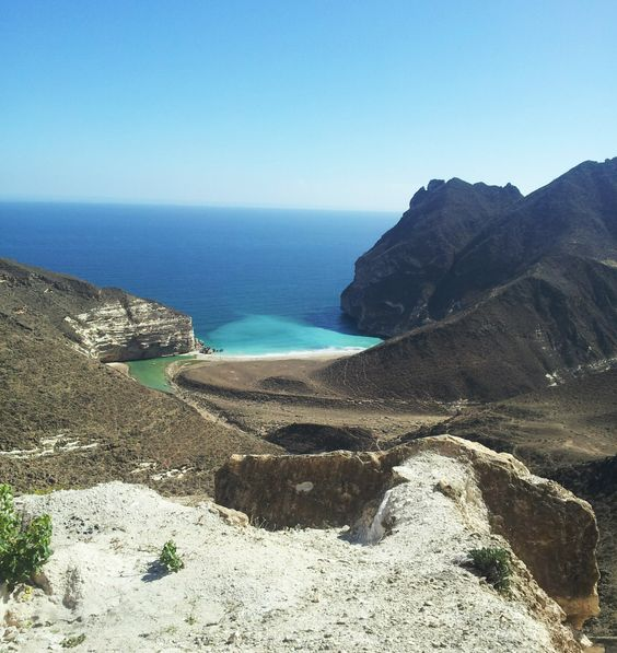 Oman | Mughsayl Bay Beach. credit: Issa Ali. view on Fb https://www.facebook.com/OmanPocketGuide #oman #traveltooman #destination