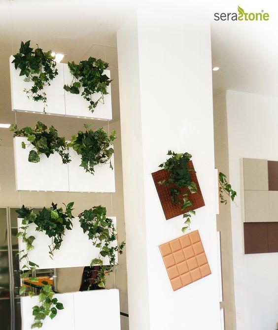 Un separador de ambientes nico la cortina vegetal de - Cortinas para separar ambientes ...