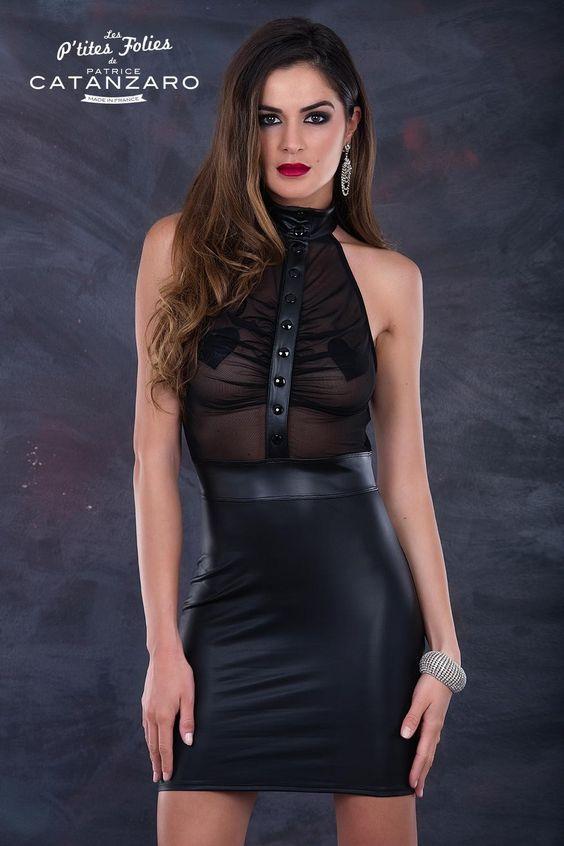 Robe sexy transparente Jane Patrice Catanzaro #patricecatanzaro #robesexy
