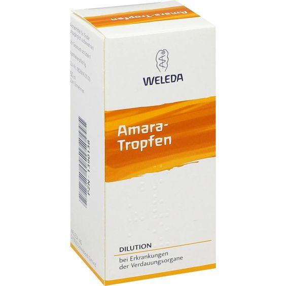 AMARA Tropfen Dilution:   Packungsinhalt: 50 ml Dilution PZN: 01390138 Hersteller: WELEDA AG Preis: 11,62 EUR inkl. 19 % MwSt. zzgl.…