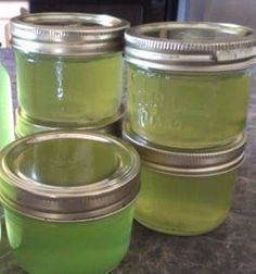 Cucumber Jelly Recipe