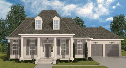 Charming Southern Style House Plan 6899 Covington House Plans