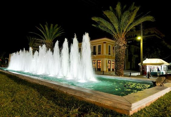 Lavrion town square