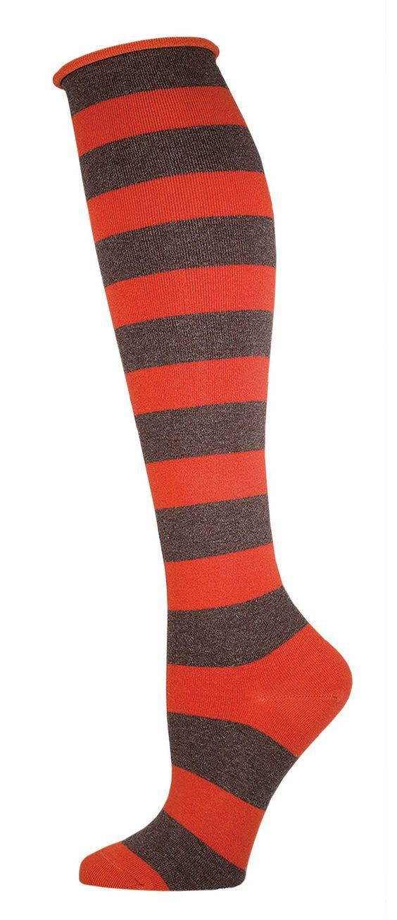 Women's Comfort Basic Stripe Knee High Socks - Socksmith Designs
