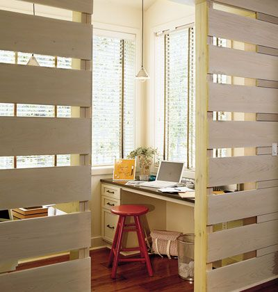 Home office partition walls and offices on pinterest Office partition walls with doors