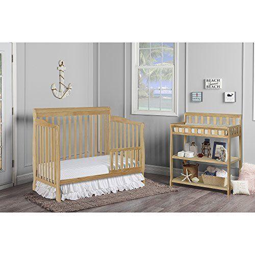 Dream On Me Ashton 5 In 1 Convertible Crib Natural Nursery Furniture Sets Convertible Crib Cribs