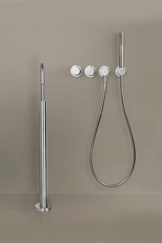 Modest Minimalist Shower Design