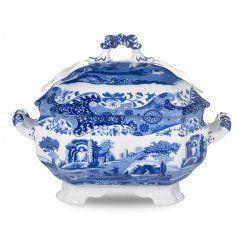 Blue Italian - Mísa s poklicí na polévku 3.4 l