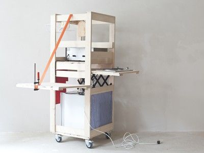 Service Wagon is a DIY kitchen on wheels