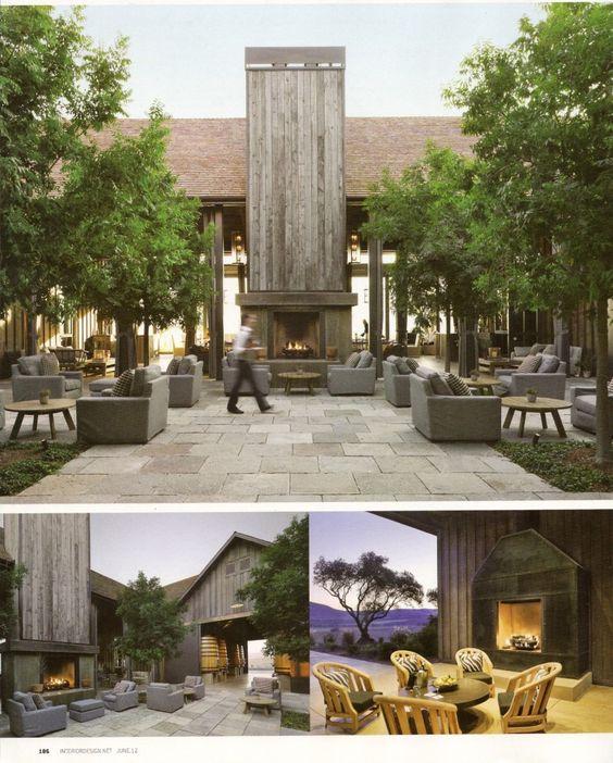 Rams Gate Winery Amy Hirsch Fairfield County Interior Design Gotta Go There Pinterest